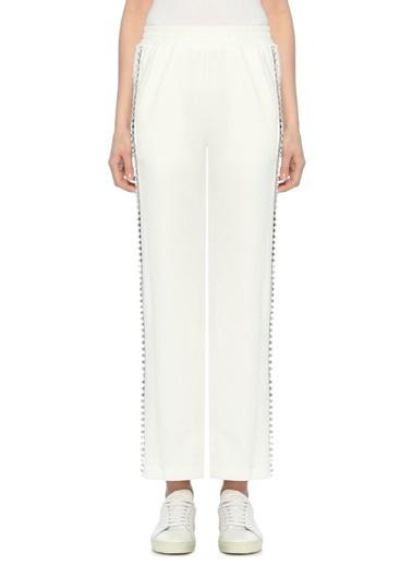 Mo&Co Pantolon Beyaz